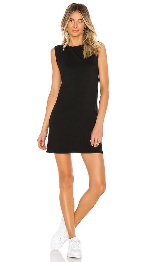 Michael Lauren Gilly Sleeveless Dress in Black