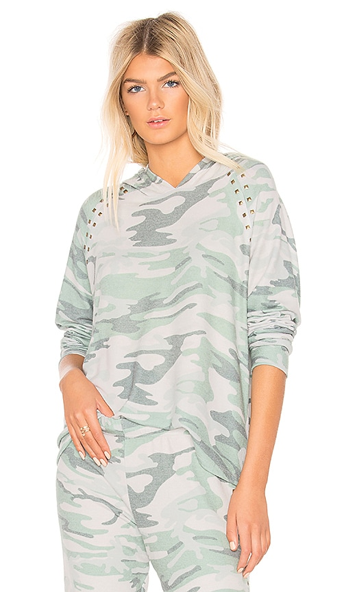 Michael Lauren Dixon Hoodie in Green
