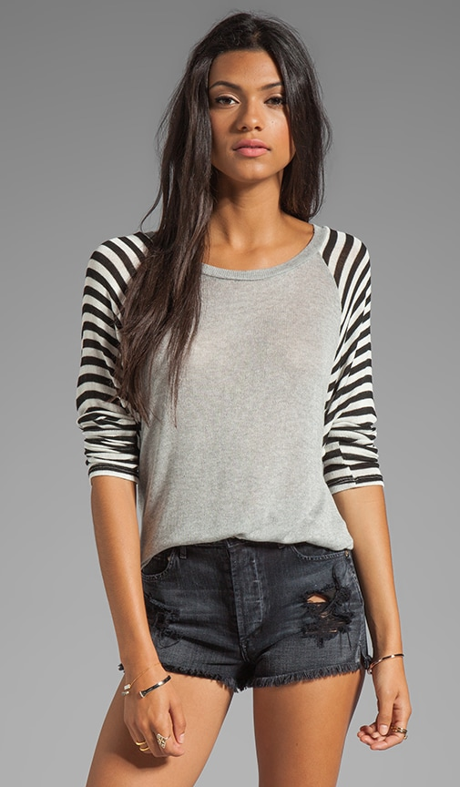 Rio Striped Raglan Sweater