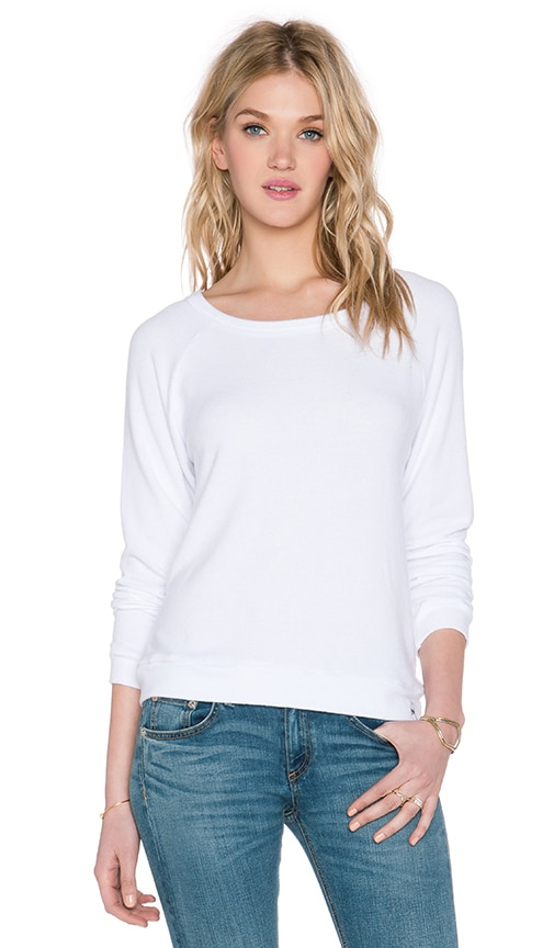 Michael Lauren Kenny Pullover in White
