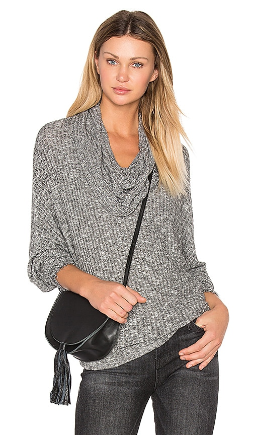 Michael Lauren Jarret Turtleneck Sweater in Grey