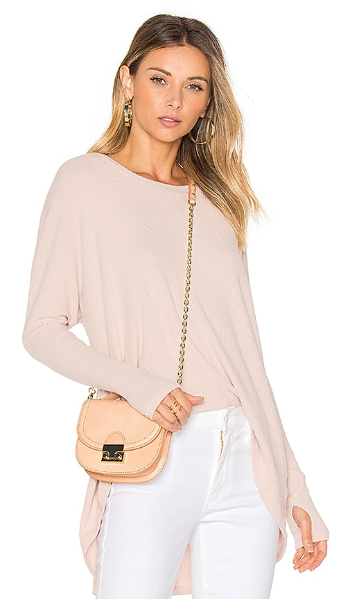 Michael Lauren Spencer Pullover in Pink