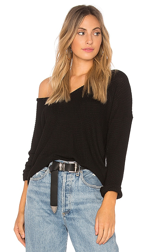 Michael Lauren Raz Pullover in Black