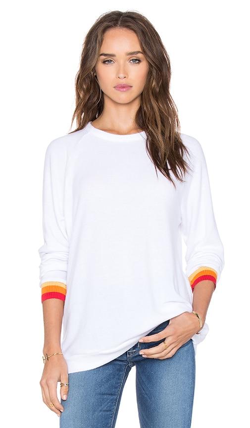 Saxon Stripe Cuff Pullover