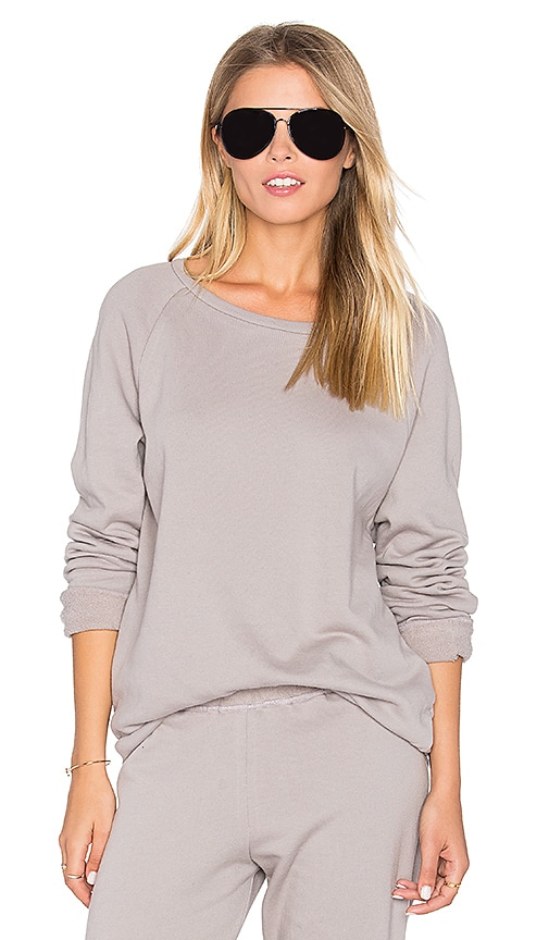Michael Lauren Oswald Vintage Pullover in Grey