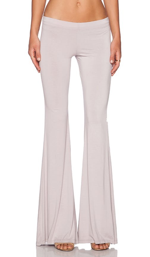 Michael Lauren Mars Bell Pant in Taupe Grey
