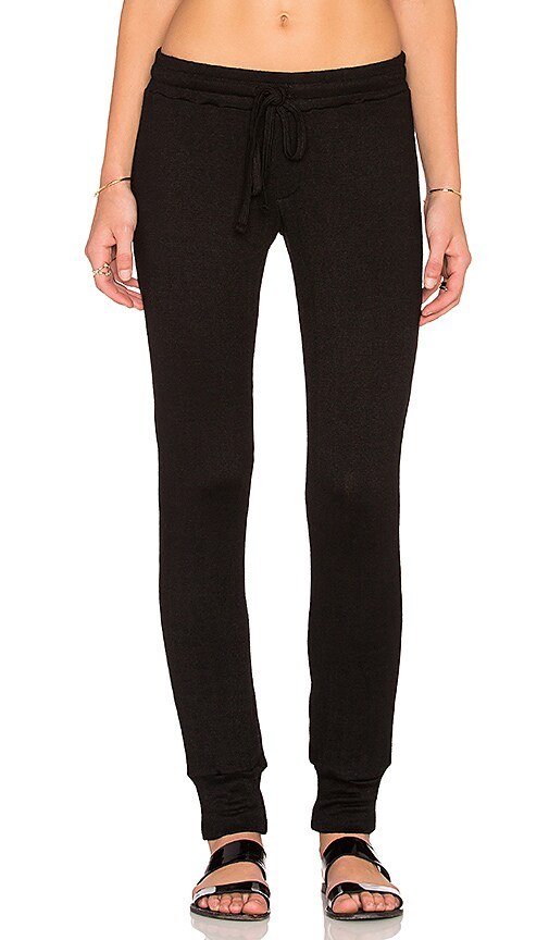 Michael Lauren Chet Track Pant in Black
