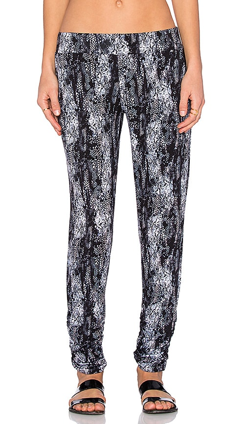 Michael Lauren Hardy Pant in Blush Midnight Snake