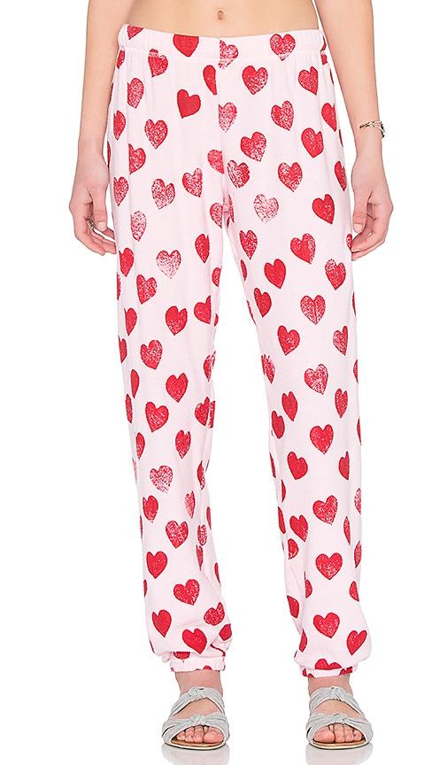 Michael Lauren George Super Soft Sweatpant in Pink