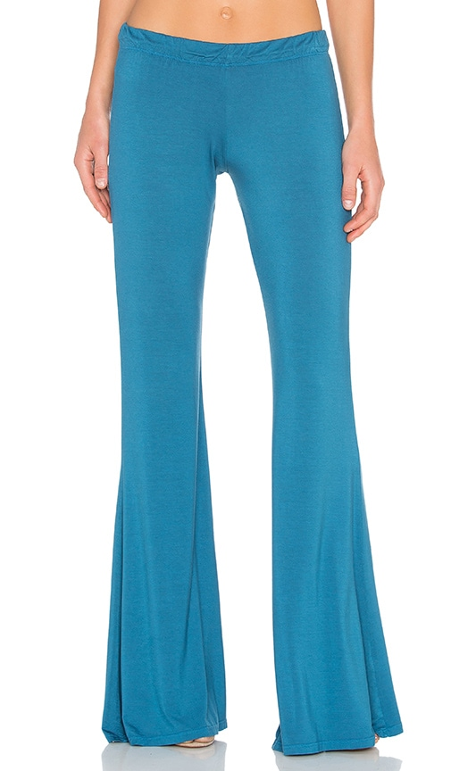 Michael Lauren Mars Bell Pant in Blue