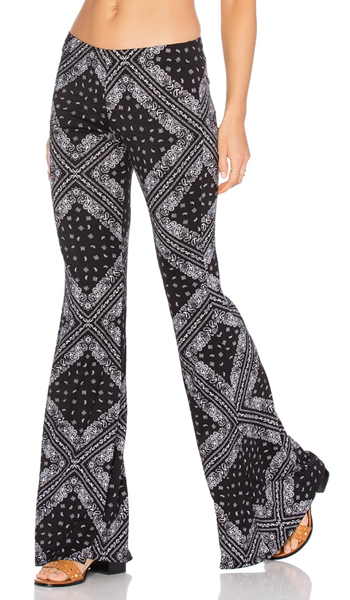 Michael Lauren Mars Bell Pant in Black