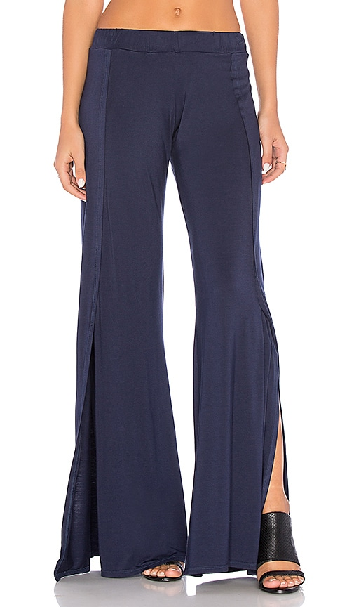 Michael Lauren Ringo Pant in Blue