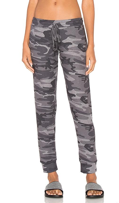 Michael Lauren Bear Sweatpant in Grey