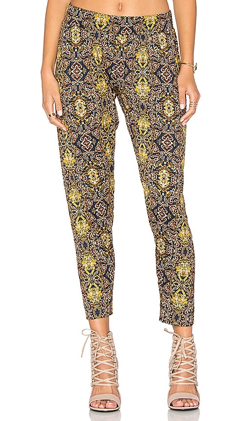 Michael Lauren Scorpion Pant in Navy