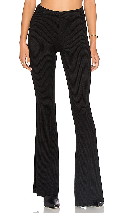 Michael Lauren Van Bell Pant in Black