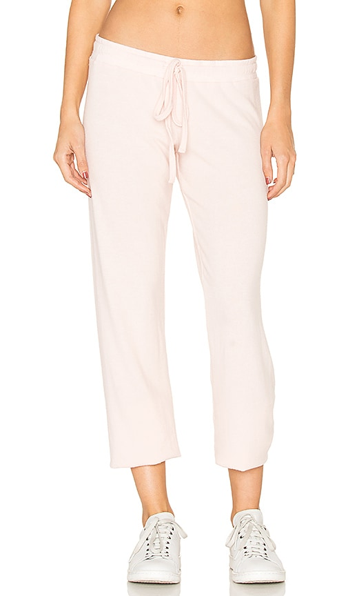 Michael Lauren Ren Classic Sweatpant in Pink