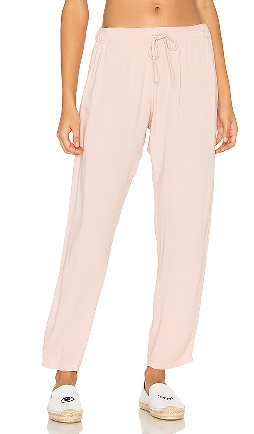 Michael Lauren Astro Relaxed Trouser Pant in Pink