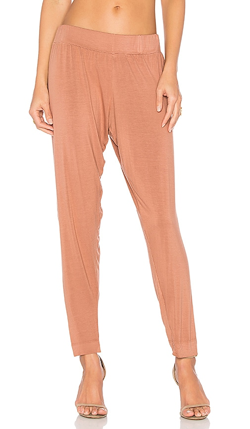 Michael Lauren Scorpion Trouser Pant in Brown