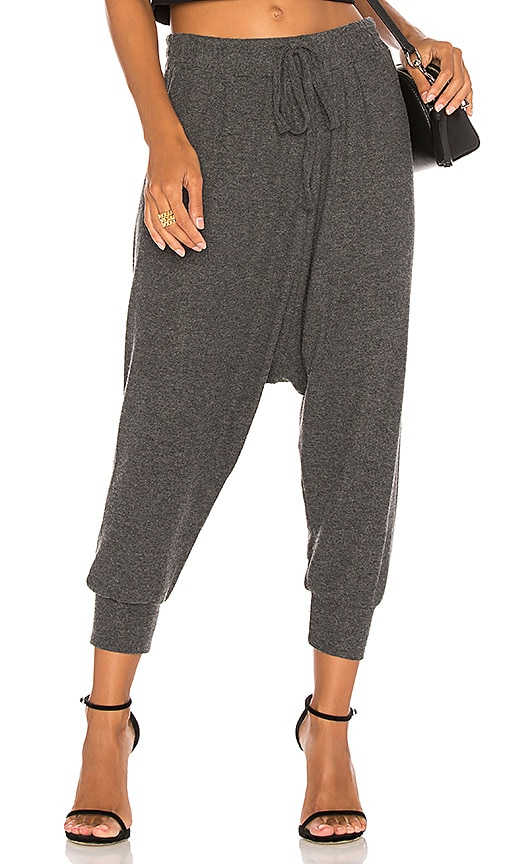 Michael Lauren Matteo Pant in Charcoal