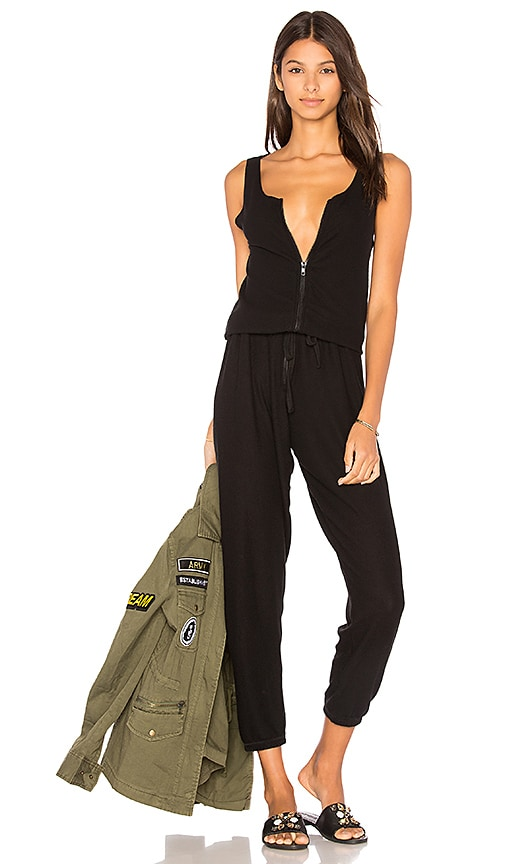 ROYAL ZIPPER JUMPSUIT Michael Lauren