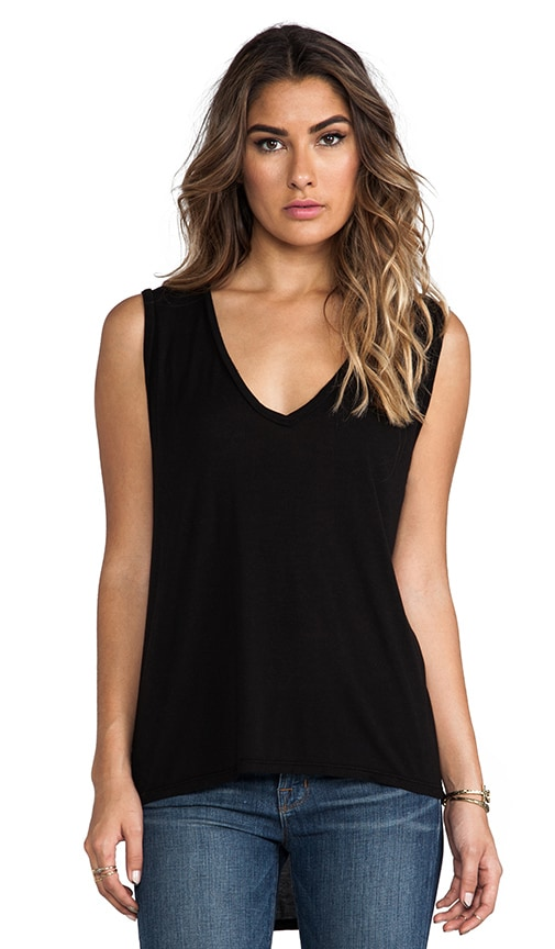 Harrison Sleeveless V Neck