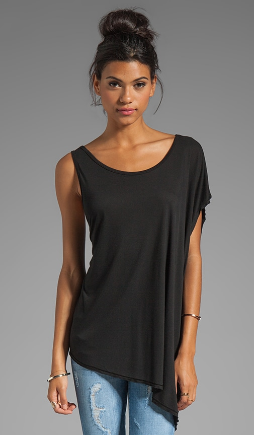 Asymmetrical Sleeve Top