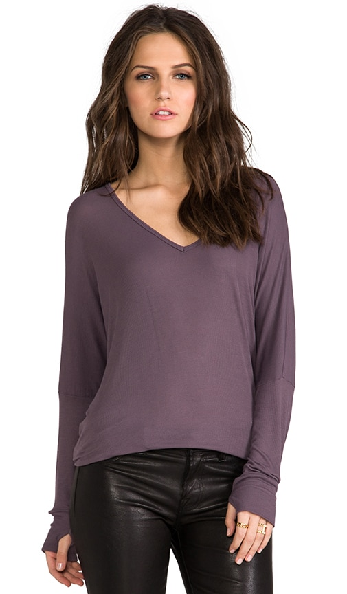 Hyde Long Sleeve V Neck