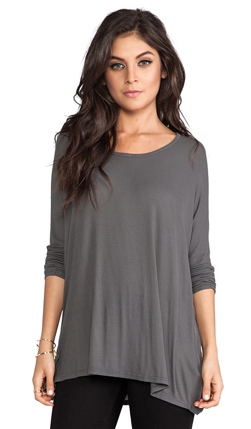 Hunter Long Sleeve Draped Tee