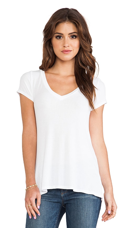 Newman V Neck Tee