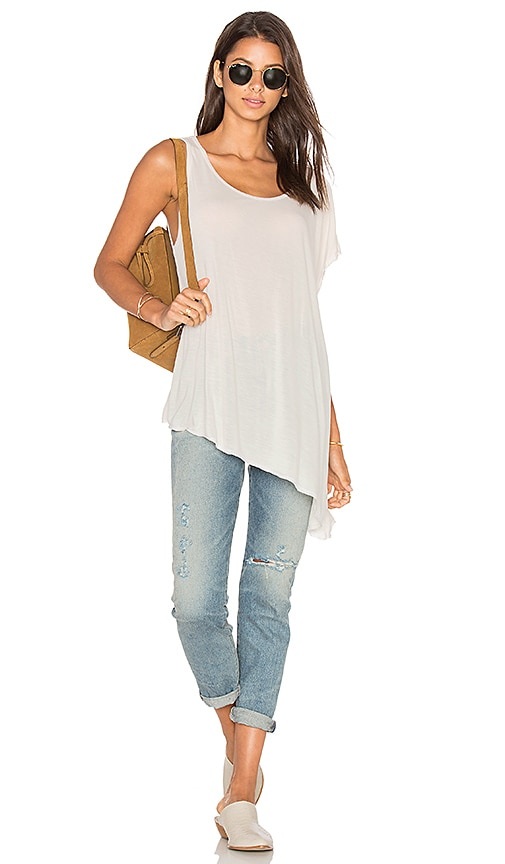 Michael Lauren Major Top in White