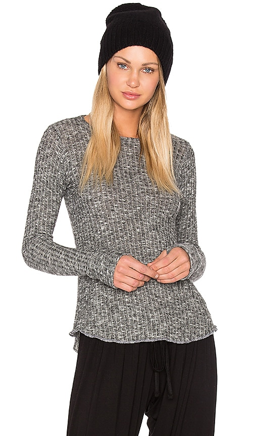 Michael Lauren Alick Thumbhole Tee in Grey