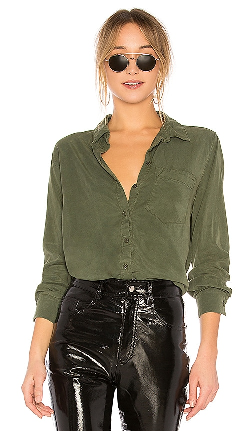 Michael Lauren Jedi Top in Green