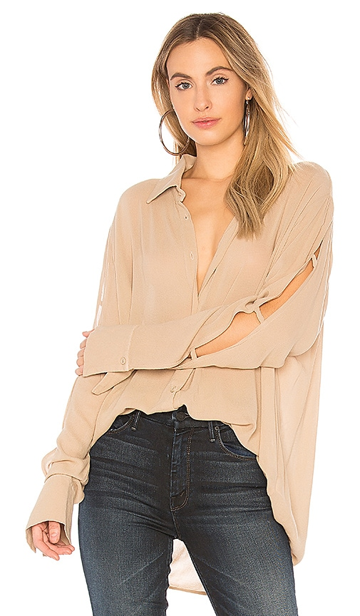 Michael Lauren Nobel Top in Tan