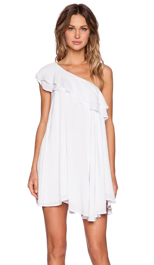 MLM Label Villain Mini Dress in White