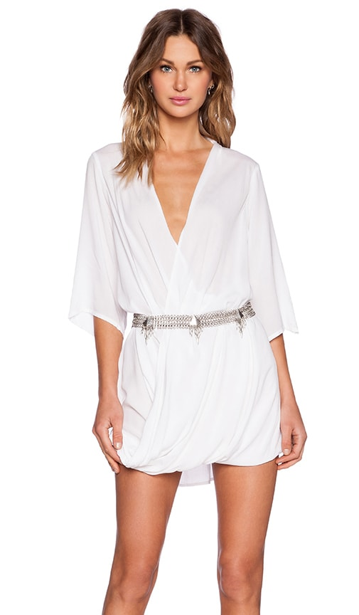 MLM Label Ziggy Mini Dress in White