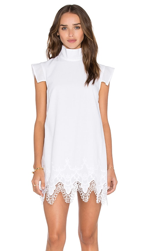 MLM Label Wandering Mini Dress in White