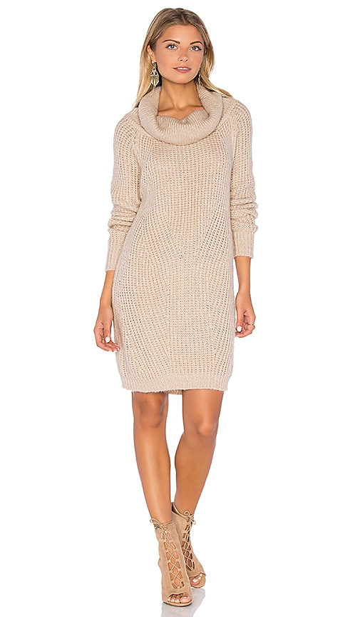 MLM Label Generation Knit Sweater Dress in Blush
