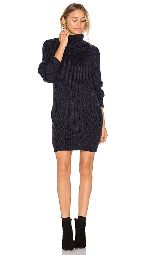 MLM Label Generation Knit Sweater Dress in Navy