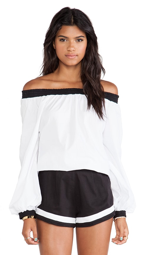 Afar Off The Shoulder Top