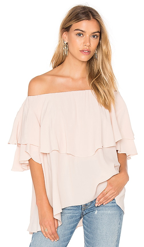 MLM Label Maison Shoulder Top in Blush