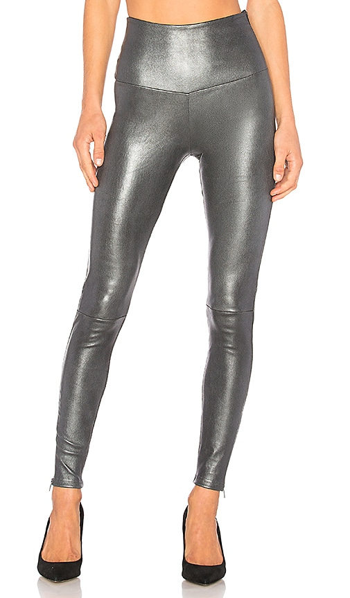 MLML HIGH WAISTED BAND LEGGINGS WITH ZIPPERS