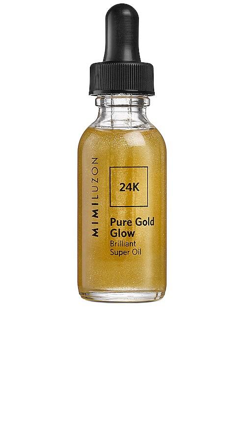 HUILE VISAGE 24K PURE GOLD GLOW BRILLIANT SUPER OIL
