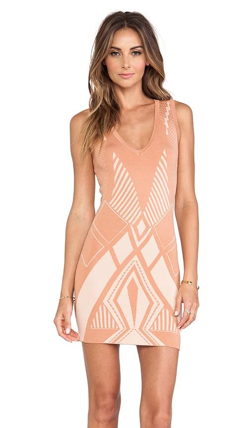 Cherisse Geometric Dress
