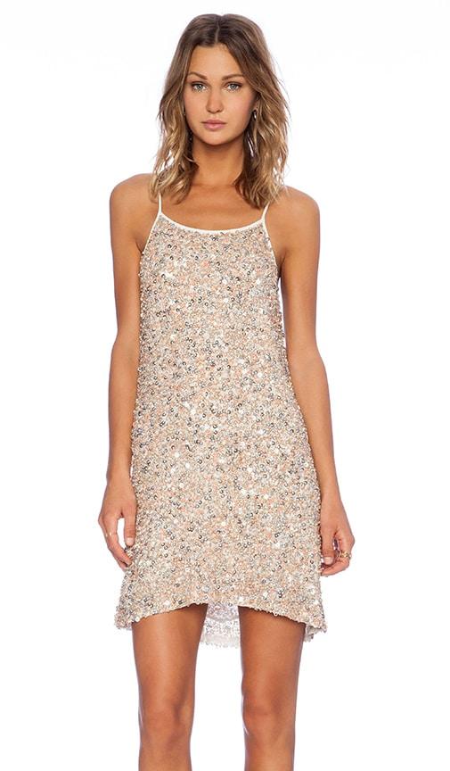 Gina Hoop Sequin Dress