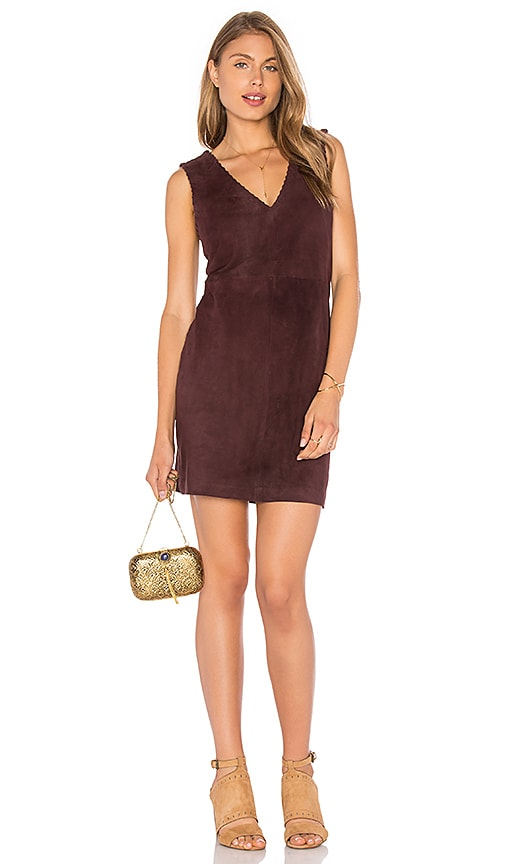 MLV Poppy Dress in Chocolate