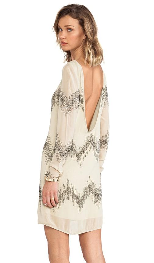 Alexa Long Sleeve Beaded Dress