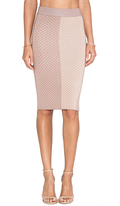 Shae Argyle Pencil Skirt