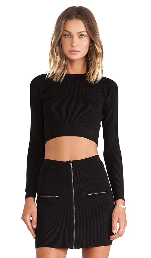 Marbella Rib Crop Top