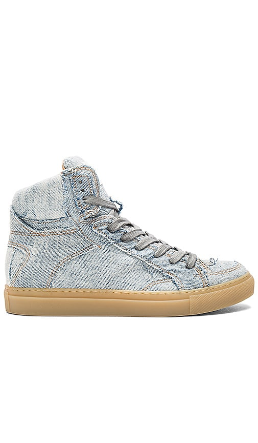 MM6 Maison Margiela Hi Top Sneaker in Baby Blue