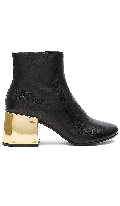 MM6 Maison Margiela Heeled Bootie in Black